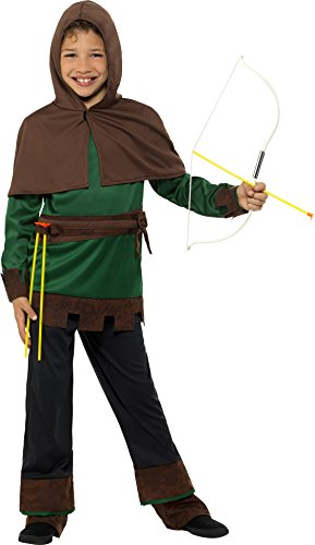 SMIFFY 'S 49708s Robin Hood Kostüm, grün/braun, klein Preisvergleich