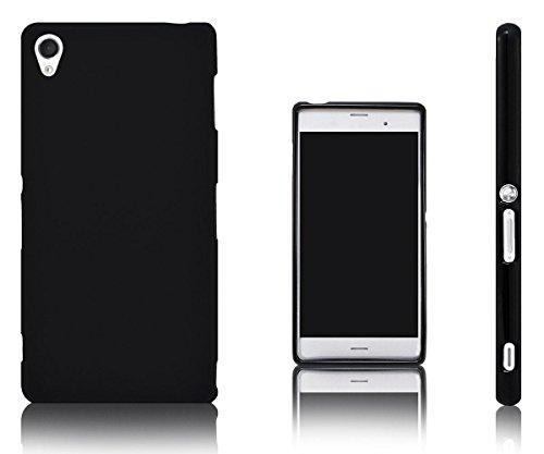 Xcessor Vapour Flexible TPU Case Schutzhülle für Sony Xperia Z3. Schwarz