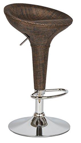 ts-ideen-13310-1-x-Tabouret-de-bar-Chaise-en-rotin-marron-Fauteuil-pivotant-en-osier-avec-chrome-et-repose-pieds