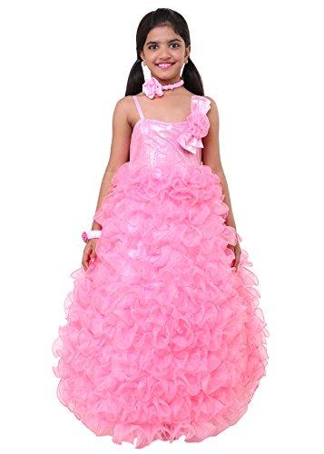 Sofyana girls pink flower bridesmaid dress teenager evening gown next mightylinksfo