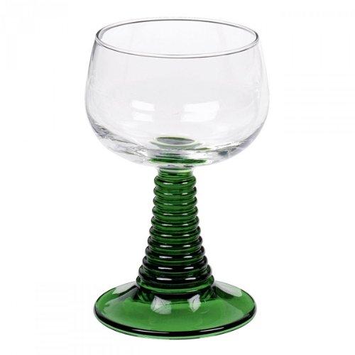 Weinrömer - Weinbecher - Weinkelch 'Römer', Glas, Handarbeit, Maße: ca. 14cm hoch, Durchmesser...