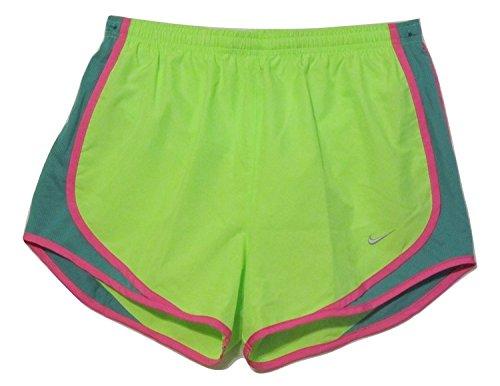 NIKE gedruckt Tempo Damen Shorts (Große, Flash Kalk/Emerald Grün) (Shorts Damen Grüne Tempo)