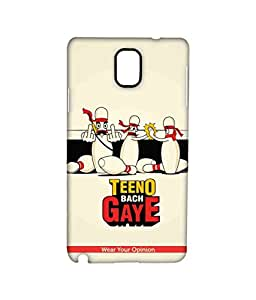 Licensed WYO Humour Premium Printed Back cover Case for Samsung Note 3