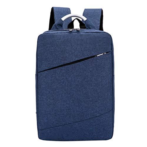 Mini Tasche Damen UmhäNgetasche Sportrucksack Rucksack mit großer Kapazität Computertasche Student Outdoor Backpack blau One Size (Outdoor-lautsprecher-dosen)
