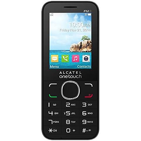 Alcatel One Touch OT 20-45X Telefono Cellulare, Nero [Italia]