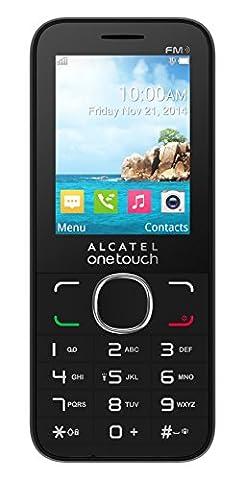 Alcatel One Touch OT 20–45x Handy Schutzhülle, Schwarz