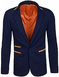 BOLF – Veste De Costume – Élégant – Moderne – Blazer – Motif – Homme [4D4]