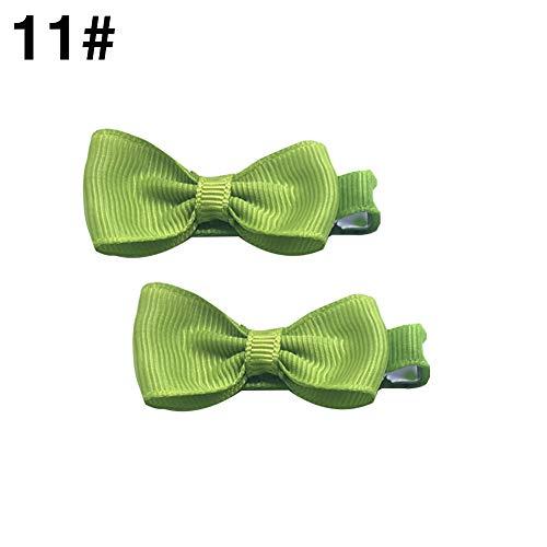 CAheadY 1 / 2Pcs Schöne St. Patrick's Day Mädchen Haarspangen Bow Kinder Haarnadel Headwear 11#