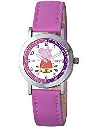 Peppa Pig Girls' Analogue Quartz Watch with Polyurethane Strap – PP007