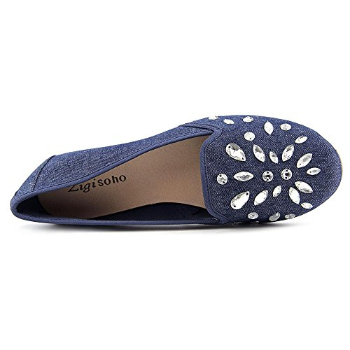 Zigi Soho Sagitta Femmes Toile Chaussure Plate blue