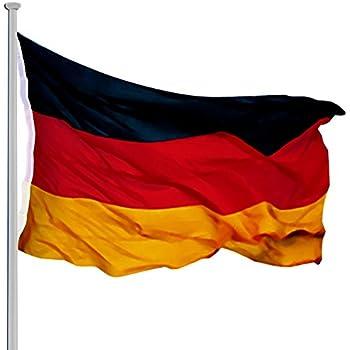 MOBILER Fahnenmast 5m Flagge Teleskopmast Alumast Fußball Weltmeisterschaft EM