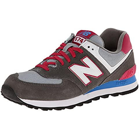 New Balance  WL574 B - Zapatillas deportiva de piel mujer