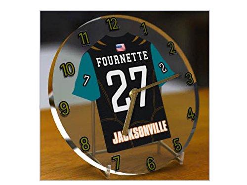 Liga Nacional de fútbol americano NFL lotmusic relojes - AFC sudamericano camiseta de fútbol Relojes - cualquier nombre, cualquier número, cualquier equipo JACKSONVILLE JAGUARS
