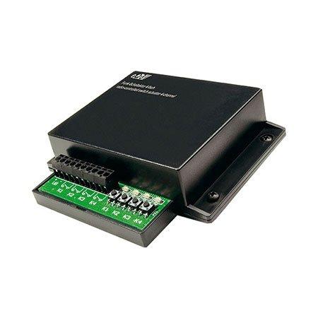 HomeMatic HM-LC-SW4-PCB 4-Kanal Schaltaktor Komplettbausatz inkl. Gehäuse