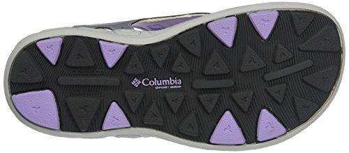 Columbia Mädchen Youth Techsun Vent Trekking- & WanderSandalen Violett (Tradewinds Grey/white Violet 032)