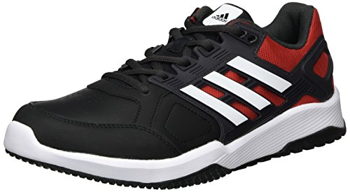 adidas Herren Duramo 8 Trainer Turnschuhe Schwarz (Negbas/ftwbla/Escarl) 42 EU