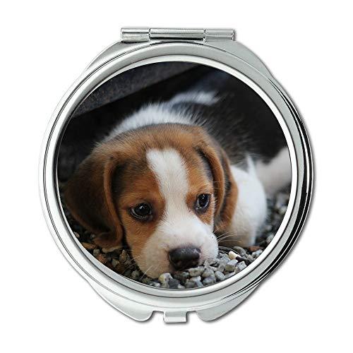 Yanteng Spiegel, Taschenspiegel, Hundewelpentiere, Taschenspiegel, tragbarer Spiegel