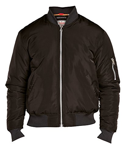 Duke London Herren Jacke XXXX-Large Schwarz
