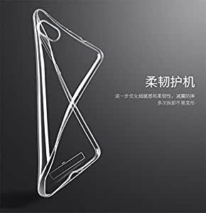 nkarta ™ Imported Premium Ultra Thin TOTU Soft Transparent Clear Back Case Cover for Xiaomi Mi3
