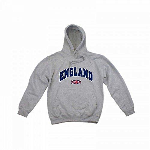 Felpa con Cappuccio England - Uomo Blu navy
