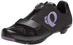 Pearl Izumi Womens W Elite RD IV Cycling Shoe, Black/Purple Haze, 39.5 EU/7.9 B US