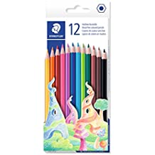 STAEDTLER 175 C12 Wood-Free Coloured Pencil, Assorted, Pack of 12