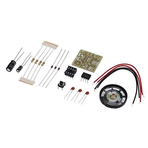 Libertroy Suite Campanello Kit per La Produzione Elettronica Campanello Kit Fai da Te Ne555 Facile da Installare Ideale per La Sicurezza della Tua Casa