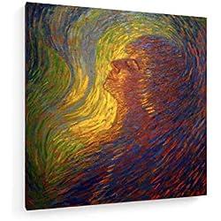 Luigi Russolo - Duft - 40x40 cm - Leinwandbild auf Keilrahmen - Wand-Bild - Kunst, Gemälde, Foto, Bild auf Leinwand - Alte Meister/Museum