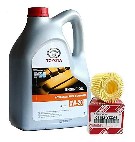 Kit Tagliando Genuine Olio motore ibrido 0W20 5 litri 04152-YZZA6