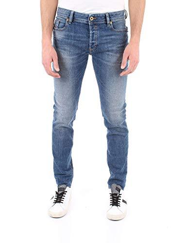 Diesel Sleenker Jeans Herren Denim MITTEL BLAU 29 L30 - Diesel Herren Jeans