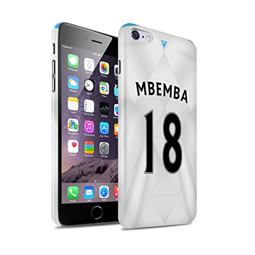 Offiziell Newcastle United FC Hülle / Glanz Snap-On Case für Apple iPhone 6S+/Plus / Pack 29pcs Muster / NUFC Trikot Away 15/16 Kollektion Mbemba