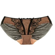 Dita von Teese Savoir Faire Slip rose noir taille 42