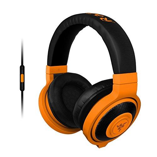 Razer Kraken Mobile - Analoge Gaming und Musik Kopfhörer neon orange