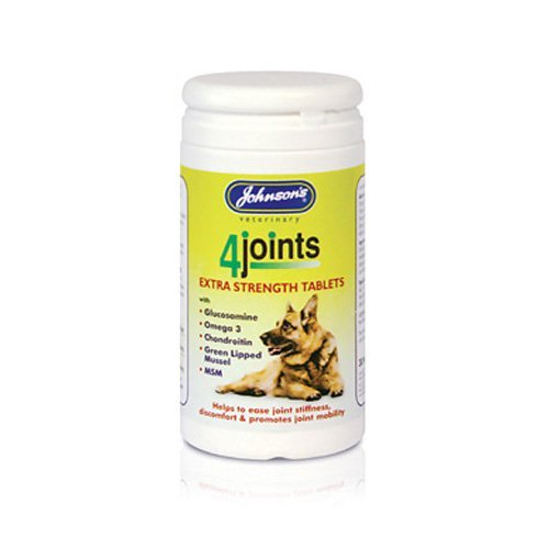 Johnsons 4 Joints Extra Strength Tablets for Dogs 100g – Bulk Deal of 4x