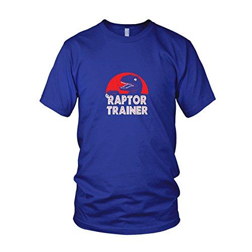 Raptor Trainer - Herren T-Shirt, Größe: XXL, Farbe: blau
