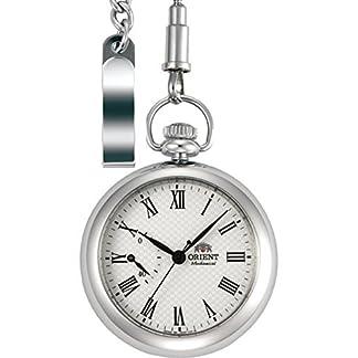 Orient época Manual Winding Power Reserve Reloj de Bolsillo dd00002W