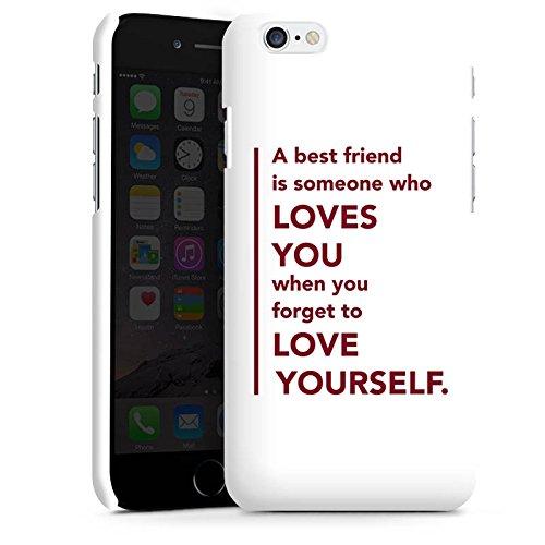 Apple iPhone X Silikon Hülle Case Schutzhülle Bester Freund Freund Freundschaft Premium Case matt