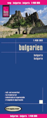 Landkarte: Bulgarien