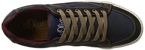 s.Oliver 13603, Scarpe da Ginnastica Basse Uomo Blu (Navy)