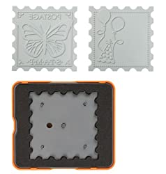 Fiskars 0192 M DESIGN SET THICK MAT STAMP