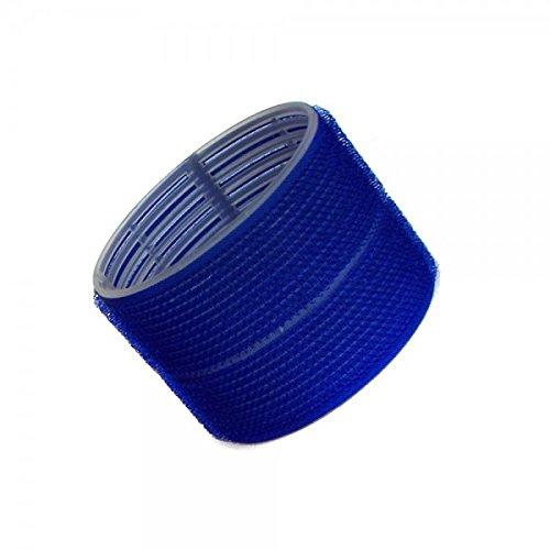 Hair Tools Velcro Cling Lockenwickler - Jumbo dunkelblau 76 mm x 6