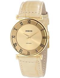 Jowissa J2.110.M - Reloj para mujeres, correa de cuero color beige