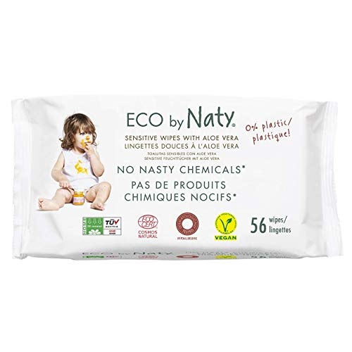 Naty By Nature Babycare - Sensitive Wipes - Toallitas