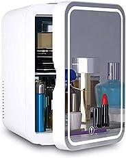 Mini Cosmetic Fridge،ثلاجة صغيرة لمستحضرات التجميل، بسعة 5 لتر، ثلاجة محمولة، مراة لمستحضرات التجميل، ثلاجة عن