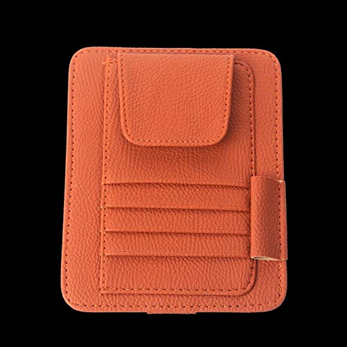 Auto Sonnenblende Organizer Holder Multifunktionsbrille und Card Clip Pouch Bag