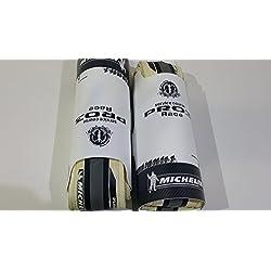 PAR PRO 3 RACE BICICLETA 700 X 23 DE COLOR BLANCO/BLANCO