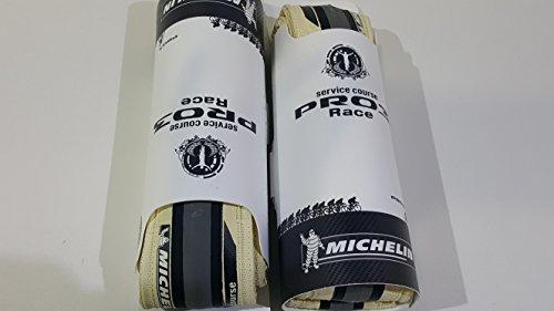 Paar Reifen Pro 3Race 700x 23elfenbein/weiß