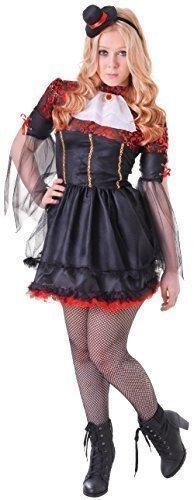 en Nobler Vampir Halloween Horror Karneval Kostüm Kleid Outfit 12-15yrs (Vampir Kostüme Für Teenager-mädchen)