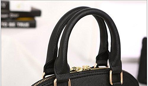 Fashion versione coreana della borsa delle signore di marea, borsa, zaino obliquo della spalla, sacchetto semplice del corpo selvaggio ( Colore : Vino rosso , dimensioni : 28*15*23cm ) Blu