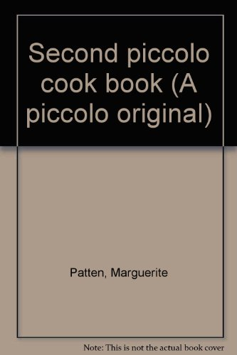 Second piccolo cook book